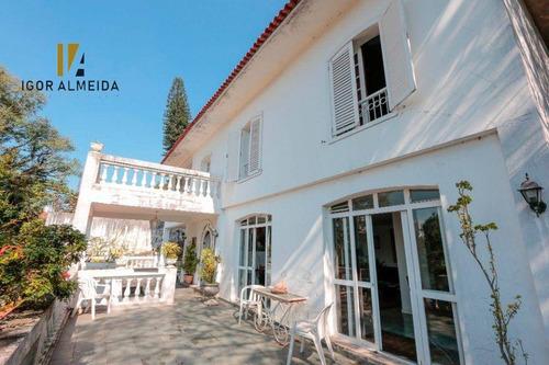 Casa Com 3 Dormitórios À Venda, 350 M² Por R$ 3.300.000,00 - Pacaembu - São Paulo/sp - Ca5346