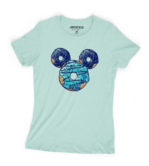 Playera Grapics Dona Mickey Mouse Camiseta Geek Disney