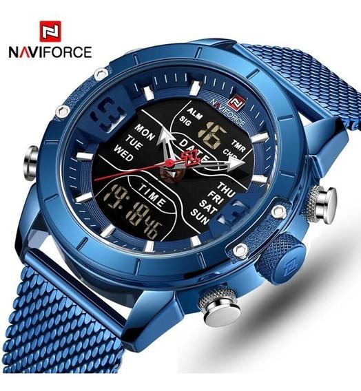 Relógio Naviforce Lançamento 2019 Sport Masculino + Brinde