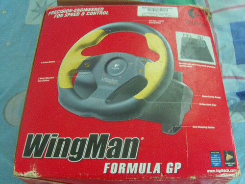 Imagen 1 de 4 de Volante Sidewinder Formula Gp Logitech Para Pc