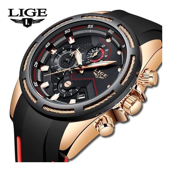 Relógio Lige Original Esportivo Aprova D
