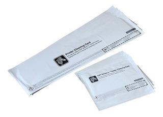 Tarjetas De Limpieza Para Impresora Zxp3 Pvc 105999-302