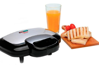 Sandwichera Liliana Mastertost As990 700w Panini Grill Gtia