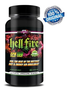 Hell Fire 90caps Innovative Original Importado Eua
