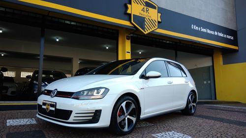 Vw Golf Gti 2.0 2014 Alemao Teto E Exclusive Impecavel