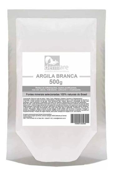 Argila Branca 500g - Dermare