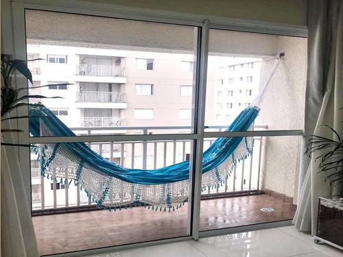 Apartamento Parque Do Sol 62m² Mobiliado 2 Dormitórios 1 Vag