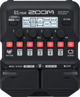 Zoom G1 Four Pedalera Multiefecto Para Guitarra Eléctrica