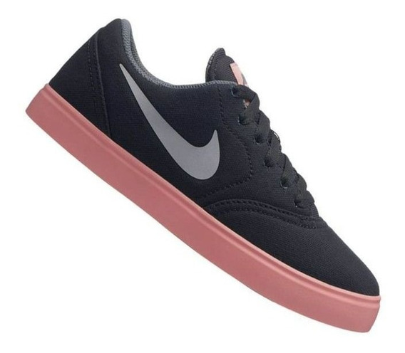 Tênis Nike Sb Check Cnvs Bg Infantil Feminino Original + Nf