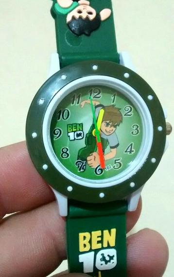 Relógio Infantil Desenho Ben 10 Barato Promoção