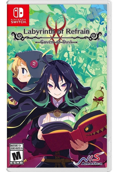 Labyrinth Of Refrain: Coven Of Dusk Switch Midia Fisica
