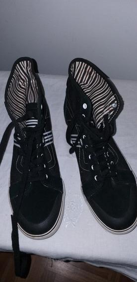 Zapatillas Vans Botita U.s 9.5 Europa 40.5 Impecables!!!!