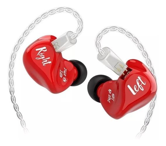 Fone Kz Zs3e S/mic Retorno De Palco Intra Auricular Original