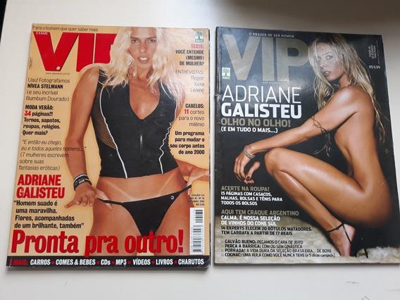 2 Revistas Vip Com Adriane Galisteu