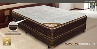 Conjunto Sommier Goldspring 140 Gani