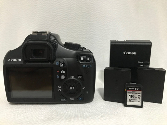 Câmera Canon T3 (só Corpo) - 3700 Cliques