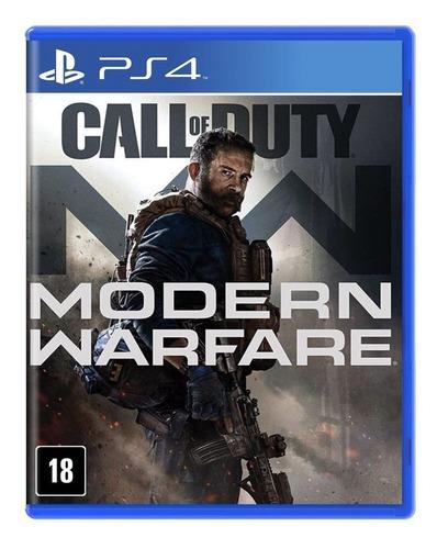 Call Of Duty Modern Warfare Ps4 Cod Mídia Física