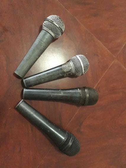 Micrófonos Shure Y Senheiseer