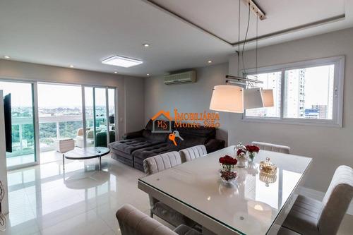 Apartamento Com 4 Dormitórios À Venda, 169 M² Por R$ 1.200.000,00 - Centro - Guarulhos/sp - Ap2613