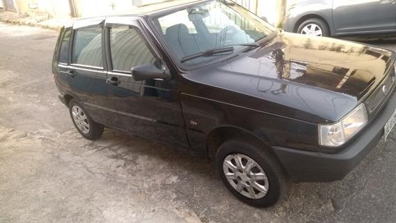 Fiat Uno Mille Fire 1.0 03/04 5p Preto