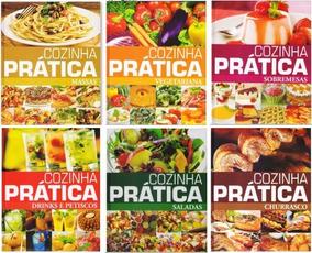 Coleção Completa Livros Culinária Cozinha Pratica Pae