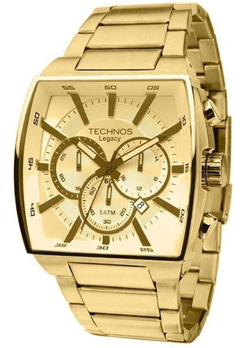 Relógio Technos Masculino Cronógrafo Legacy Js25al/4x
