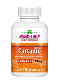 Oleo De Cartamo 120 Capsulas De 1000mg!