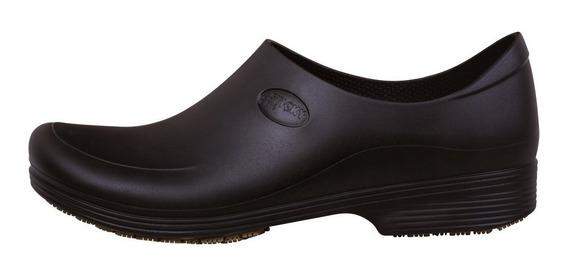 Calçado Antiderrapante Impermeável Stick Shoe Canada Pto/bco