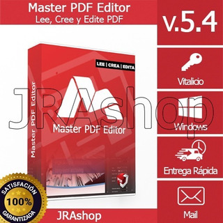 Ma.ster Pdf Editor V5.4 - Crea, Edita Y Lea Documentos