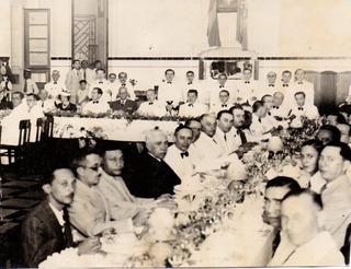 Antiguidade Amazonas 1950 Reunião Gov. Álvaro Botelho Maia