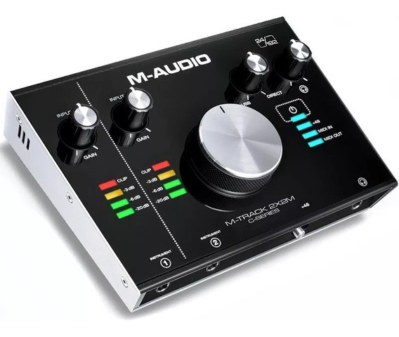 Interface De Audio M-audio M-track 2x2m