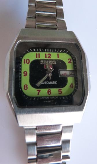 1 Relógio Seiko 5 Automatico Mod. 6319-6020 Raro Cx 39x37m