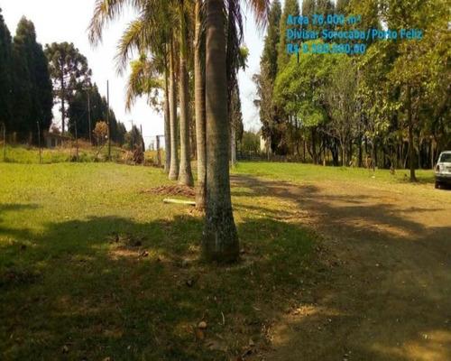 Área Para Venda Em Sorocaba - Imobiliaria Cidade Sorocaba - Ar00002 - 34469200