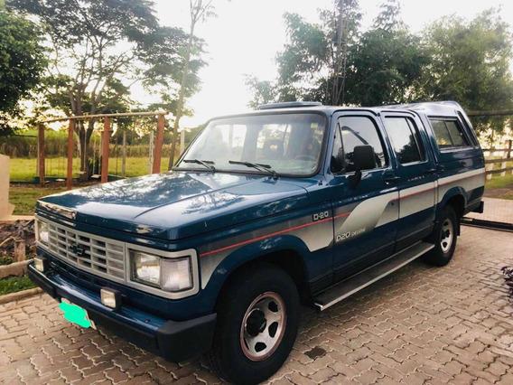 Chevrolet D-20 Deluxe Placa Preta