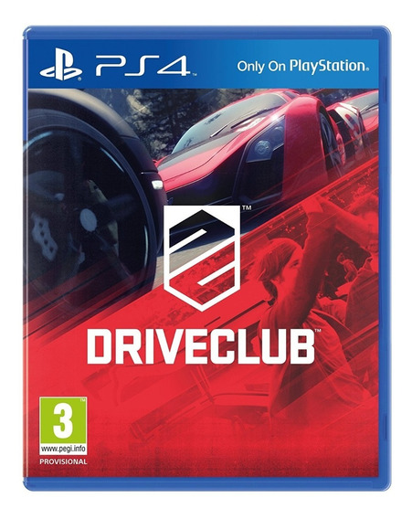 Driveclub Ps4 Playstation 4 Mídia Física Envio 12,00