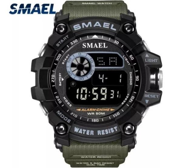 Relógio Masculino Militar 8010 Shock À Prova D