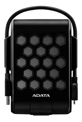 Imagen 1 de 3 de Disco duro externo Adata AHD720-1TU3 1TB negro
