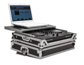 Hard Case Controladora Pioneer Ddj Rb Com Plataforma Desliza