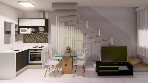 Casa Com 2 Dormitórios À Venda, 46 M² Por R$ 156.000 - Condomínio Villagio Ipanema I - Sorocaba/sp - Ca2252