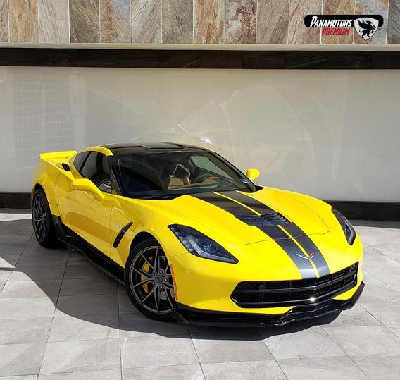 Corvette Stingray Coupe Z51, 460 Hp, Ta,amarillo, 2017