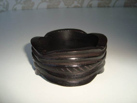 Pulseira Bracelete Madeira Tonalizada Artesanal Indiana 17