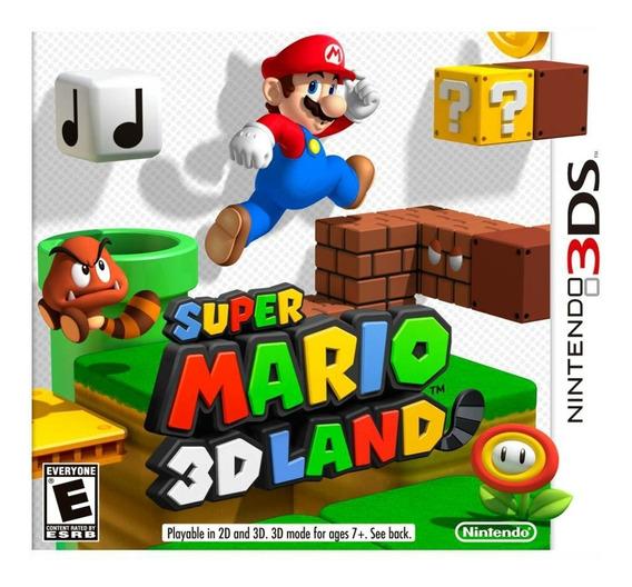 Super Mario 3d Land Na Caixa Nintendo 3ds Ou 2ds