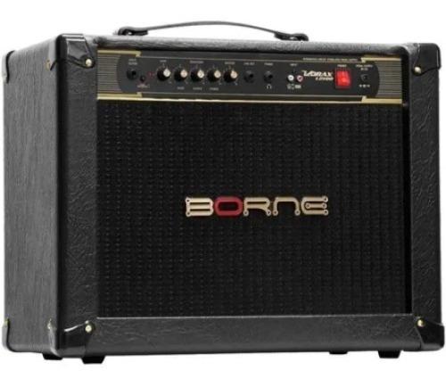 Amplificador Guitarra 100w 1x12 Borne 12100 Com Fonte Pedais