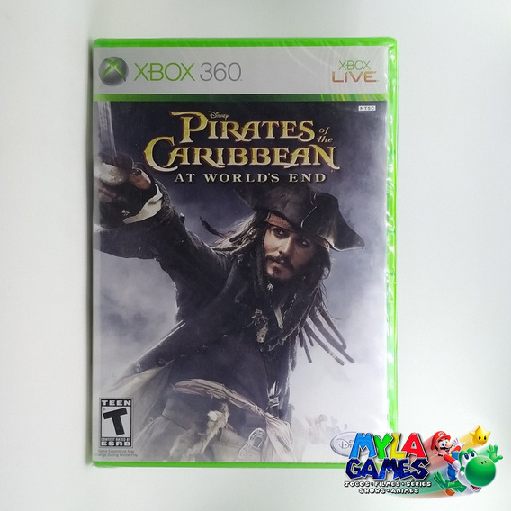 Pirates Of The Caribbean At World End Xbox 360 Física Usada