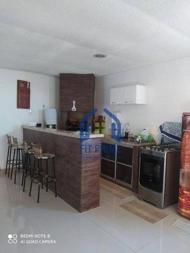 Casa Com 3 Dormitórios À Venda, 65 M² Por R$ 300.000 - Parque Da Liberdade Ii - São José Do Rio Preto/sp - Ca2541