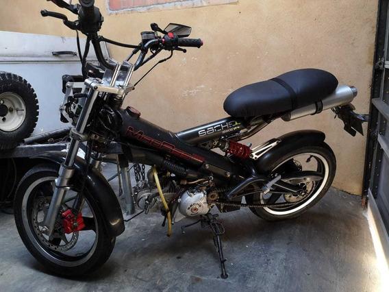 Moto Motocicleta Marca Sach Alemana Usada Cod6900 Asch