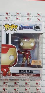 Funko Pop! Iron Man #467 Boxlunch Exclusive Avengers Endgame