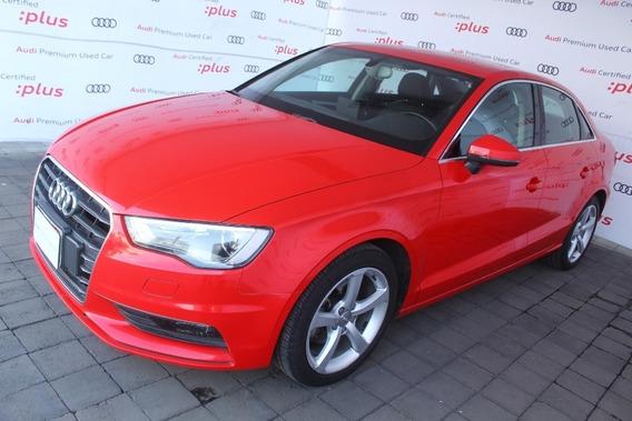 Audi A3 Attraction 1.4 T Aut Rojo 2015