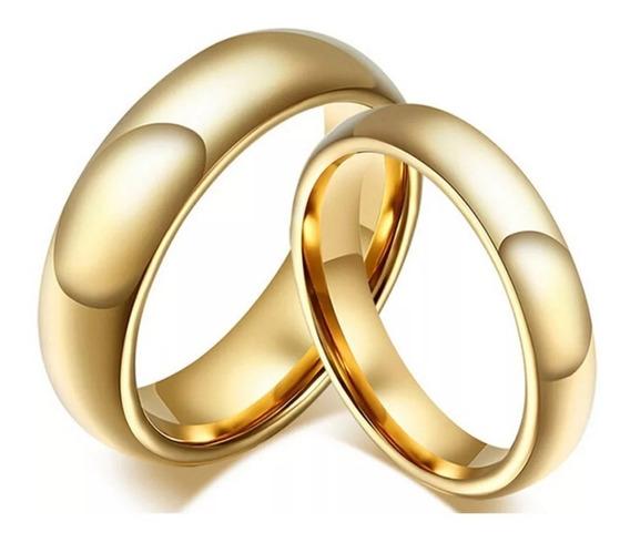 Par Aliança Tungstênio 6mm Casamento Noivado Compromissopar
