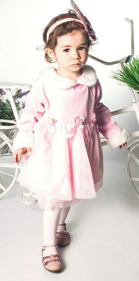 Vestido Infantil Festa Princesa Realeza Luxo